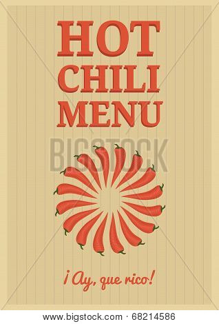 Red Chili Poster