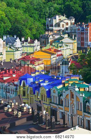 Old Streets Of Kiev
