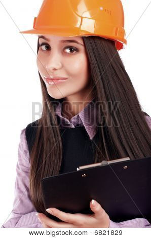 Charming Young Business Woman