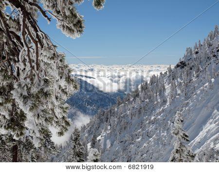 Mt. Baldy California Winter