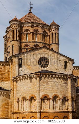 Abse And Dome View  In The Romanesque Collegiate Church Of Toro