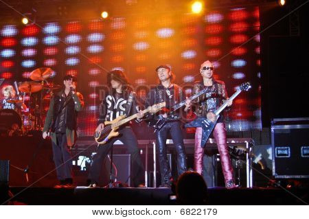 The Scorpions in Concert