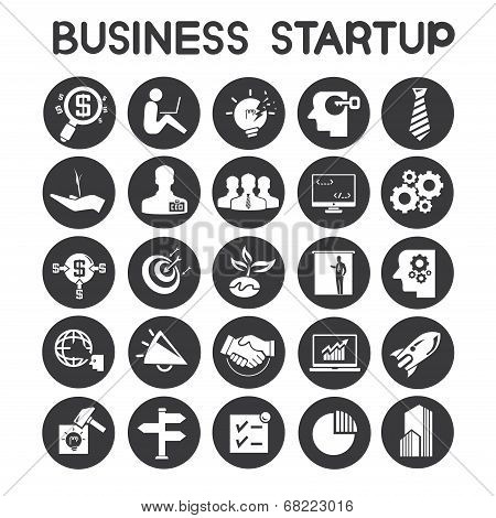 business start up icons