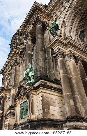 Detail Of Evangelical Supreme Parish And Collegiate Church In Berlin