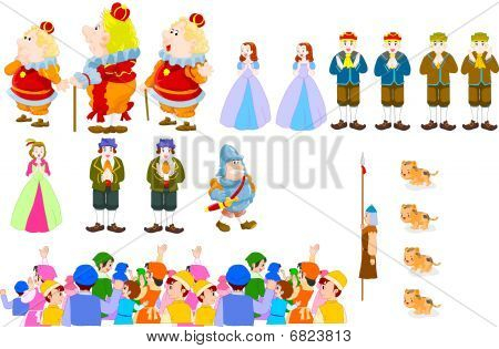 Cartoon vector character design