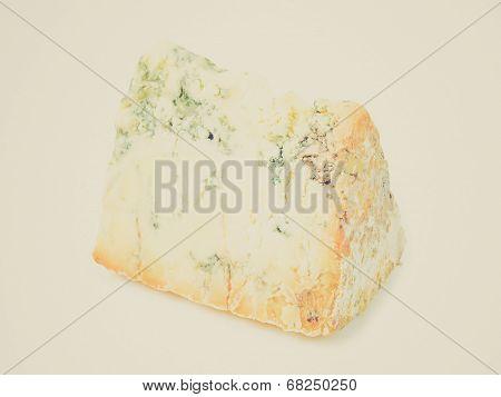 Retro Look Blue Stilton Cheese