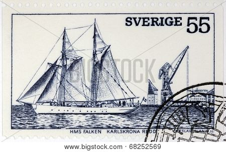 Sailing Ship Stamp