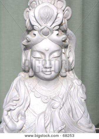 Statue Of Goddess Kwan Yin