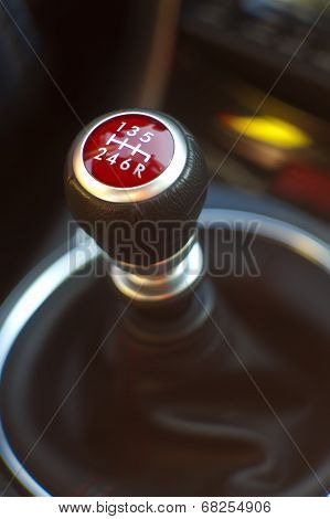Red Gear Stick