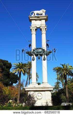 Monument to Cristobal Colon, Seville.