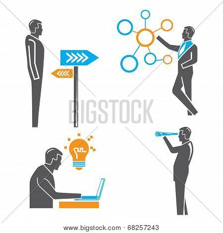 business people, business solution concept