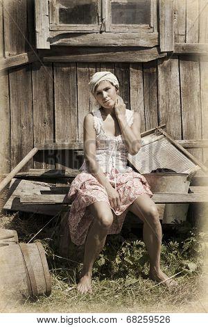 Countryside Woman