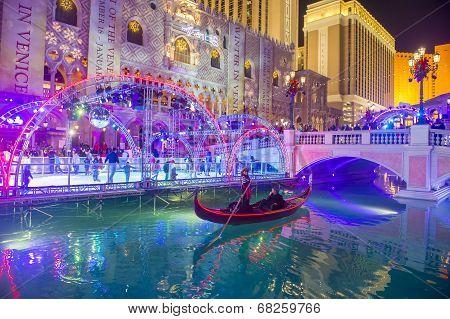 Las Vegas , Venetian Hotel Ice Rink