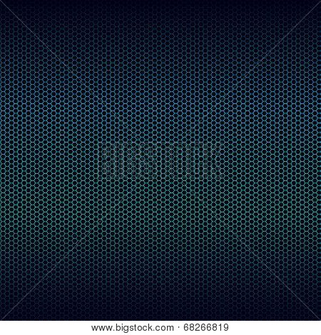 Seamless Vector Metal Texture With Blue Highlight