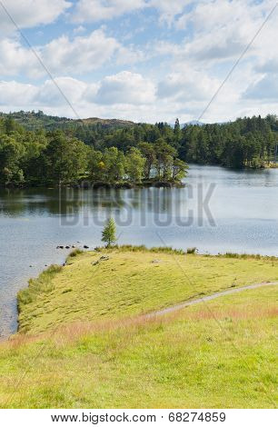 Tarn Hows Lake District National Park England uk one of the top scenic destinations in the North Wes