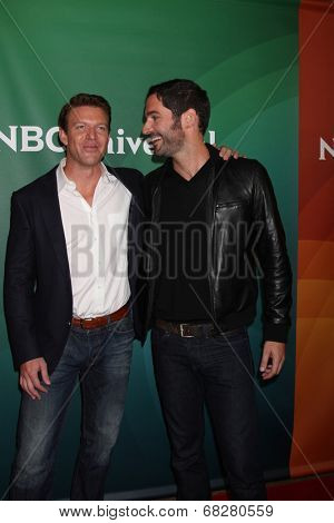 LOS ANGELES - JUL 13:  Matt Passmore, Tom Ellis at the NBCUniversal July 2014 TCA at Beverly Hilton on July 13, 2014 in Beverly Hills, CA