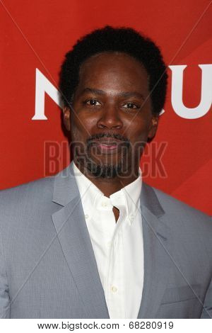 LOS ANGELES - JUL 13:  Harold Perrineau at the NBCUniversal July 2014 TCA at Beverly Hilton on July 13, 2014 in Beverly Hills, CA