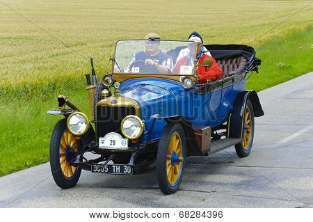 oldtimer car rally