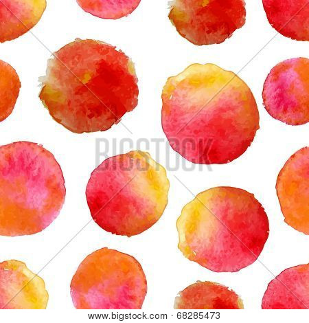 round water color background .vector illustration