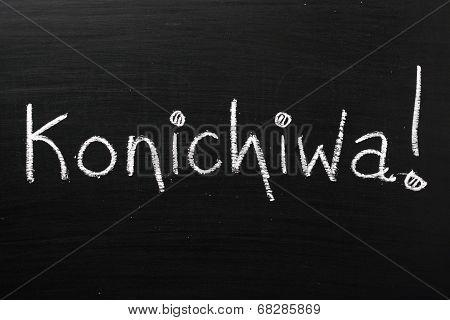 Konichiwa!