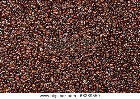 Background of the coffee beans