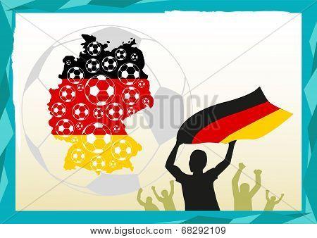 Germany Soccer score celebration