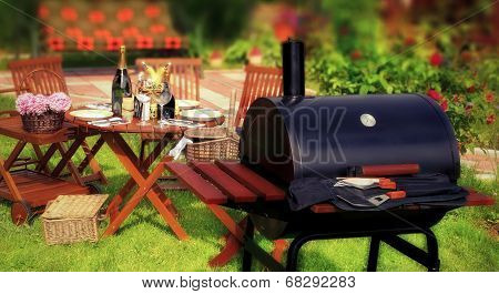 Summer Bbq Party Or Picnic