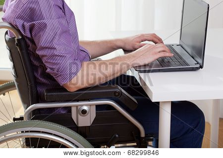 Disabled Working On Laptop