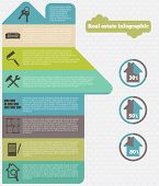 foto of real  - Real estate infographic set charts vector illustration - JPG