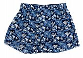 pic of boxer briefs  - Boxer briefs for men with floral pattern - JPG
