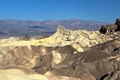 Постер, плакат: Zabriskie Point In Death Valley National Park California