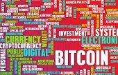 picture of bitcoin  - Bitcoin or Bitcoins as a Crypto Currency Concept - JPG