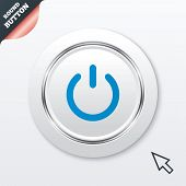 picture of power lines  - Power sign icon - JPG