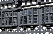picture of manor  - Traditional Tudor period timber framed black and white manor house in Stockport - JPG