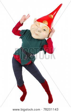 Elf or gnome costume