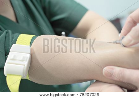 The Process Of Vein Puncture