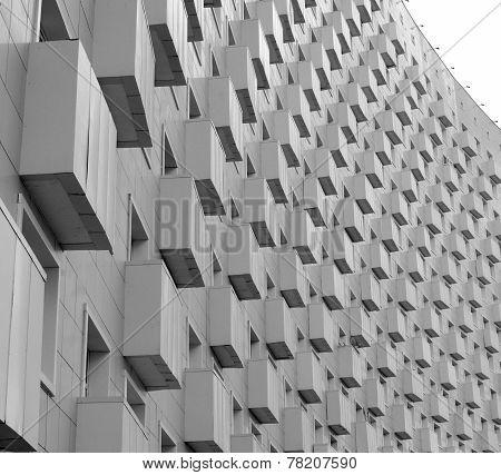 Irregular Surface Of A Modern Home