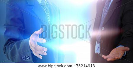Businessman Hand To Shake