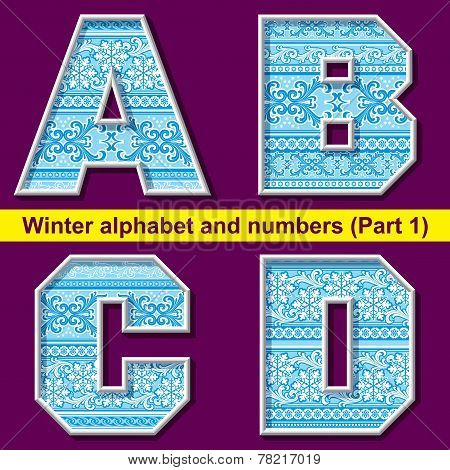 Winter Abc. Part 1
