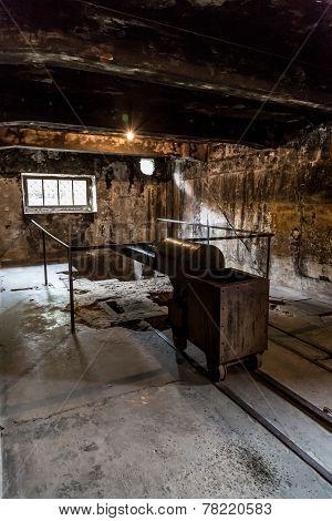 Crematorium In Auschwitz