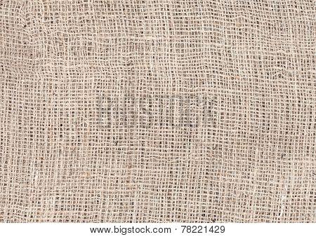 Jute texture natural linen background or texture.