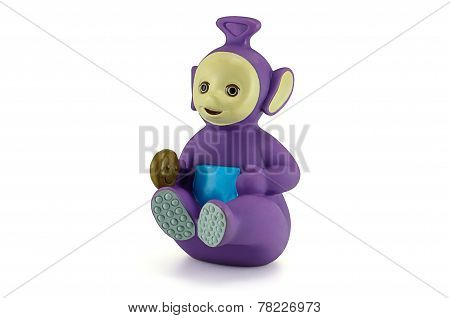 Tinky Winky The Purple Alian Teletubbies Character.