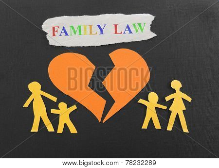 Family Law With Broken Heart