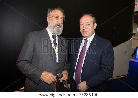 MOSCOW, RUSSIA, JUNE, 16: Artur Chilingarov. 21st World Petrolium Congress, June, 16, 2014 at Crocus Expo  in Moscow, Russia