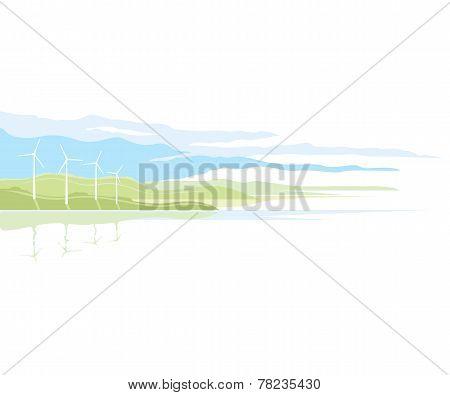 Wind Generator Landscape