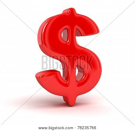 Dollar Sign (clipping path included)