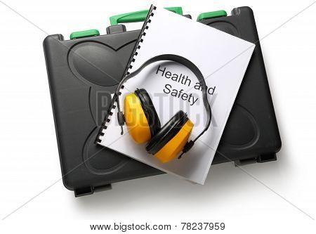 Black Toolbox With Earphones