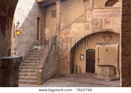 Old House In San Gimignano
