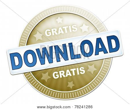 An image of a useful gratis download button
