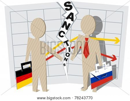 Germany sanctions against Russia